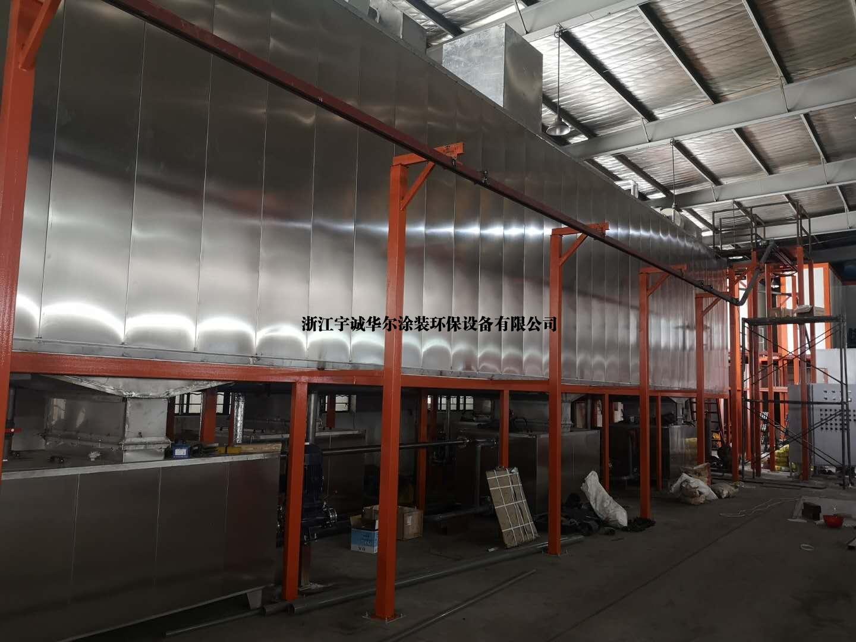 涂装设备生产线 粉末喷涂整厂生产线 前处理设备电泳设备
