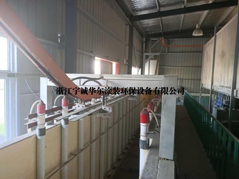 浙江湖州出售涂装设备二手电泳自动流水线前处理流水线