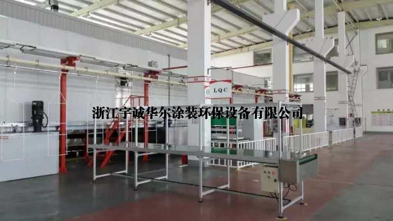浙江湖州出售涂装设备二手大型前处理喷涂流水线