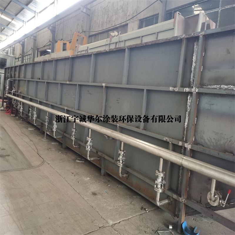 二手涂装设备不锈钢前处理槽船型槽浸泡槽(已售)