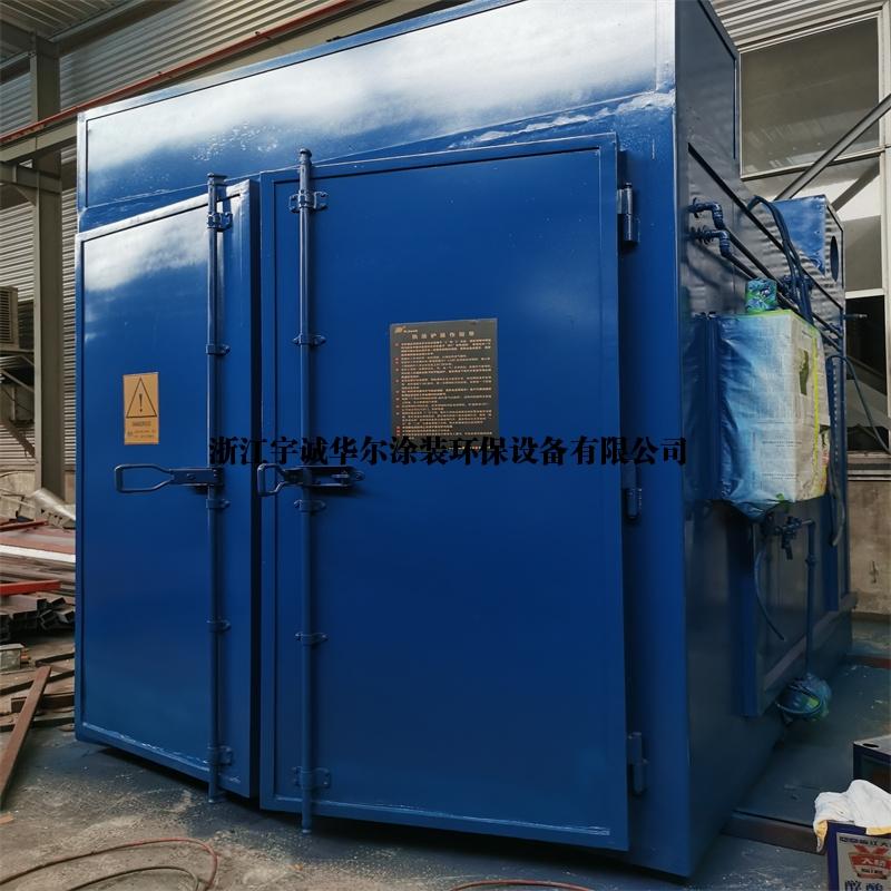 出售二手涂装流水线设备热洁炉面包炉往复机不锈钢前处理浸泡槽