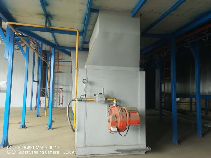 全新二手电梯板喷涂流水线